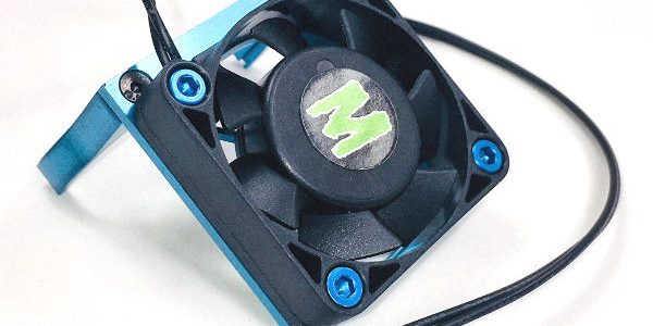Trinity D8.5 Blue Motor Cooling Fan Mount With Fan
