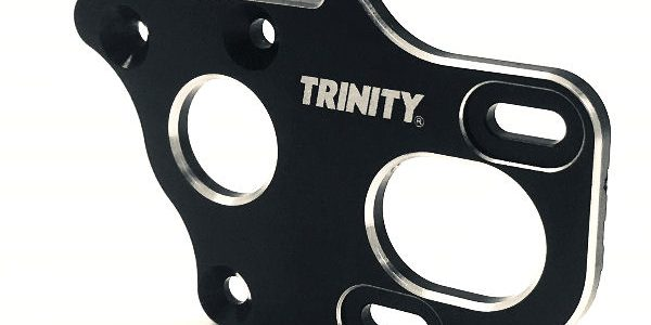 Trinity Laydown/Layback 3-Gear Tranmission Motor Plate For The Associated 6.1 Series Vehicles