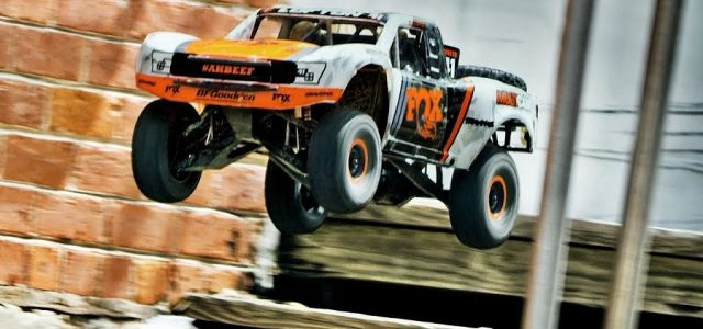 Urban R/C Assault With The Traxxas Unlimited Desert Racer [VIDEO]