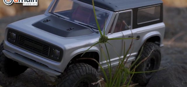 1st Look At Vanquish VS4-10 Origins Limited 1/10 Trail Truck [VIDEO]