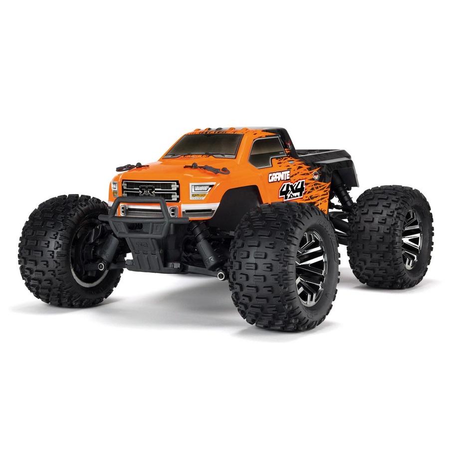 Arrma Rtr 1 10 Granite 4x4 3s Blx Brushless Monster Truck