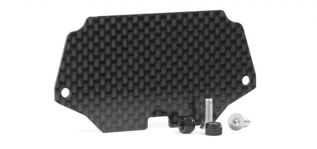 Avid Carbon Fiber Electronics Tray For The TLR 22 4.0