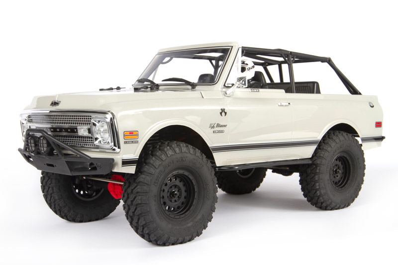 Axial 1969 Chevrolet K5 Blazer Clear Body