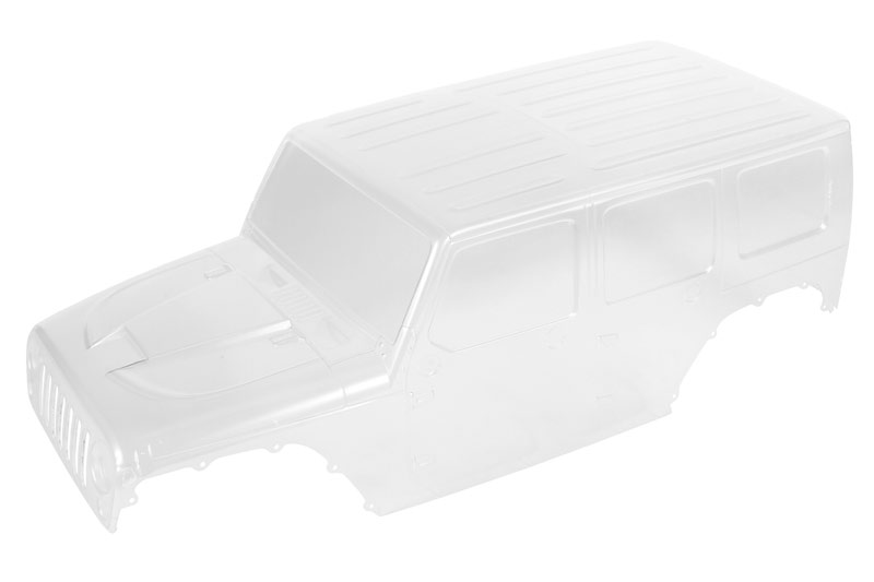 Axial 2017 Jeep Wrangler Unlimited Rubicon Hardtop Clear Body