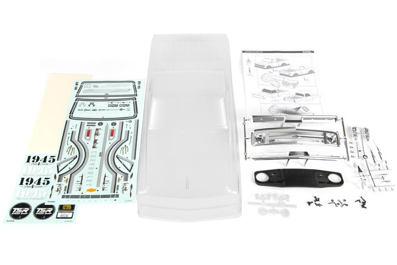 Axial Clear Body For The 1967 Chevrolet C-10