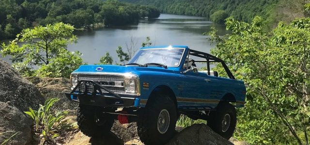 Axial SCX10 II 1969 Chevrolet Blazer Through The Woods & Water Crawl [VIDEO]