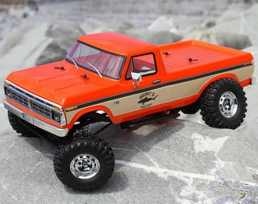 Carisma RTR SCA-1E 1976 Ford F150 LWB