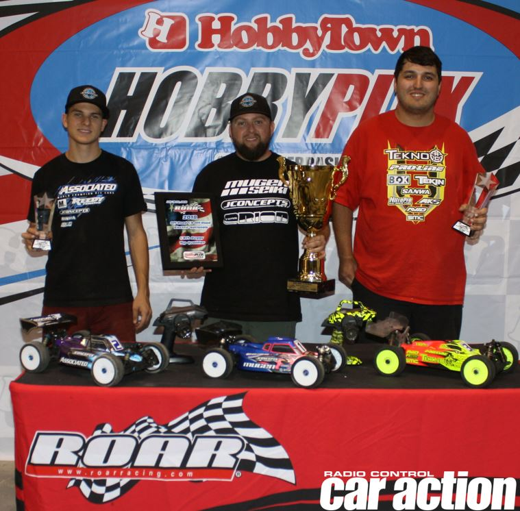 Maifield & Bornhorst Dominate At The 2018 ROAR 1/8 Off-Road Electric Nationals