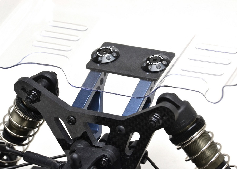 Exotek +5MM Wing Mounts For The Tekno EB410