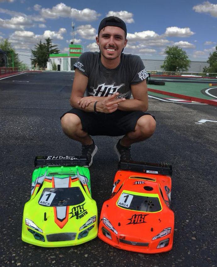 HB Racing's RGT8-E Makes Debut At 2018 EUROS
