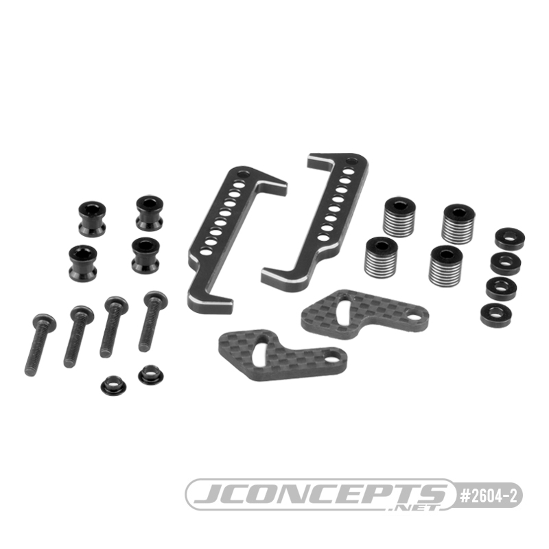 JConcepts B6.1 | B6.1D | T6.1 | SC6.1 Swing Operated Battery Retainer Set