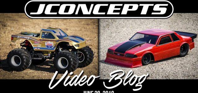 JConcepts VLog: Mustang Fox Body, Bigfoot Open House & More [VIDEO]