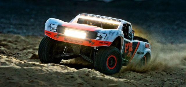 LED Light Kit For The Traxxas Unlimited Desert Racer [VIDEO]