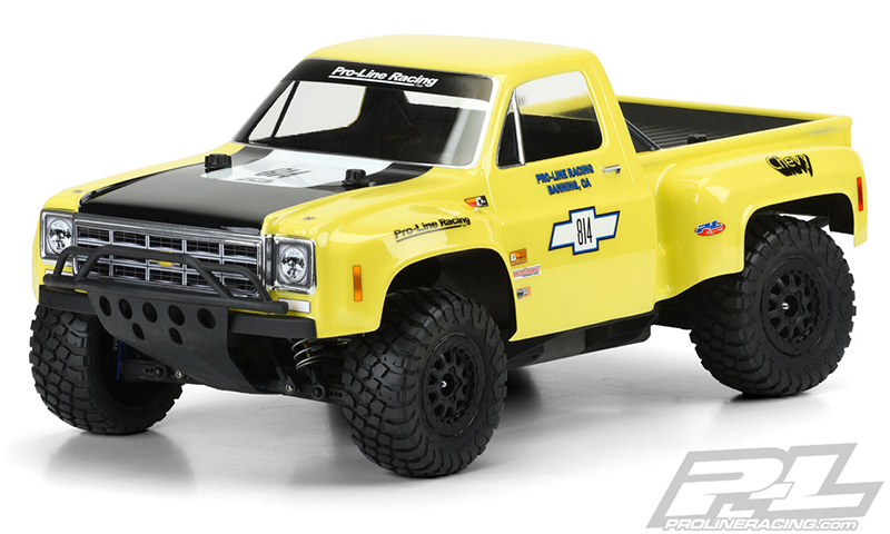 Pro-Line 1978 Chevy C-10 Race Truck Clear Body
