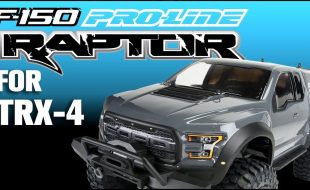 Pro-Line 2017 Ford F-150 Raptor Clear Body For The Traxxas TRX-4 [VIDEO]