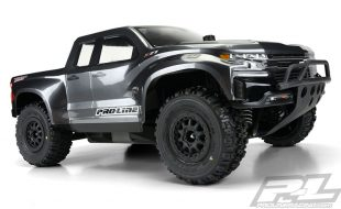 Pro-Line 2019 Chevy Silverado Z71 Trail Boss True Scale Clear Body