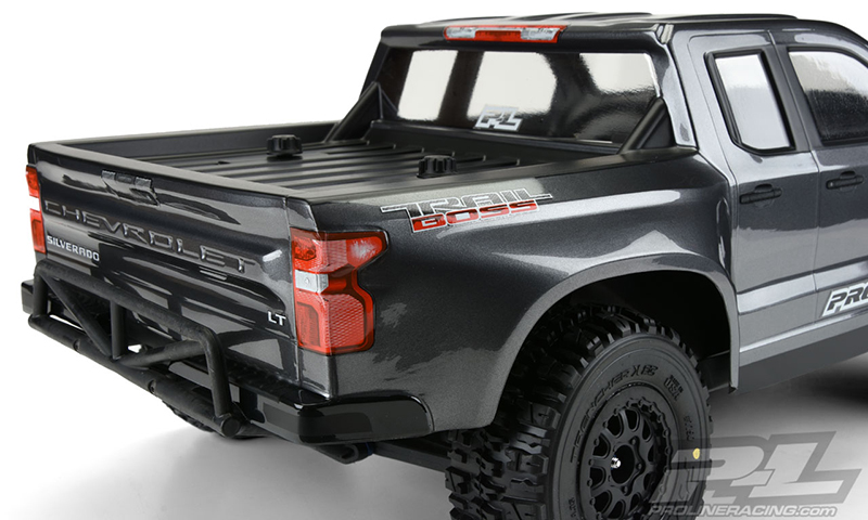 Pro-Line 2019 Chevy Silverado Z71 Trail Boss True Scale ...