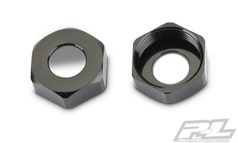 Pro-Line PowerStroke HD Aluminum Bottom Cap Replacements For The Traxxas X-MAXX