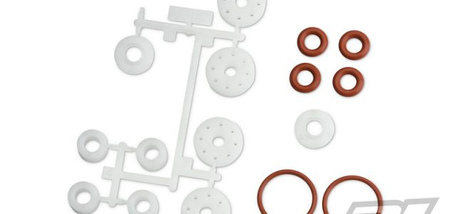 Pro-Line PowerStroke HD Shock Shaft Seals Replacement For The Traxxas X-MAXX