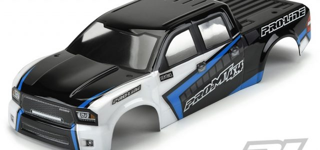 Pro-Line Pre-Painted/Cut Sentinel Body For The PRO-MT 4×4