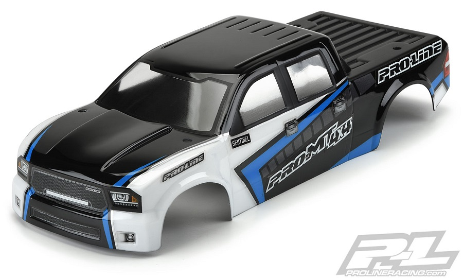 Pro-Line Pre-Painted/Cut Sentinel Body For The PRO-MT 4x4
