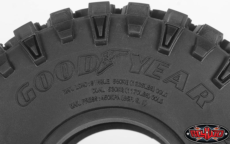 """RC4WD Goodyear Wrangler Duratrac 1.9"""" 4.75"""" Scale Tires"""