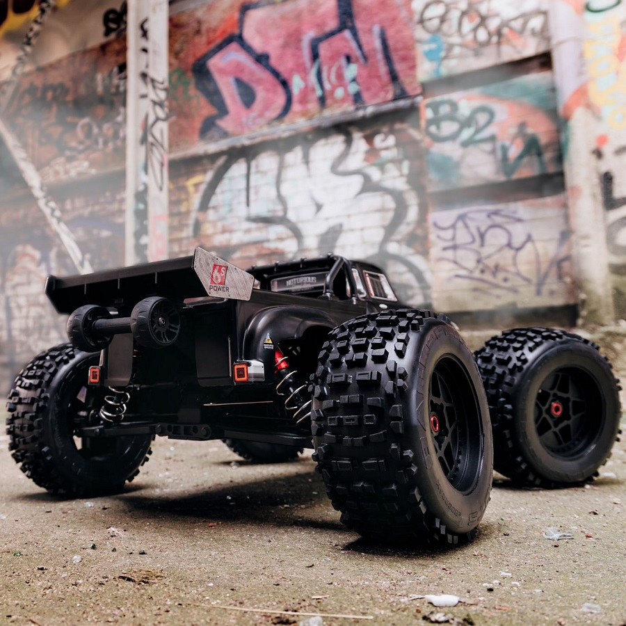 ARRMA RTR NOTORIOUS 1/8 4wd Classic Stunt Truck