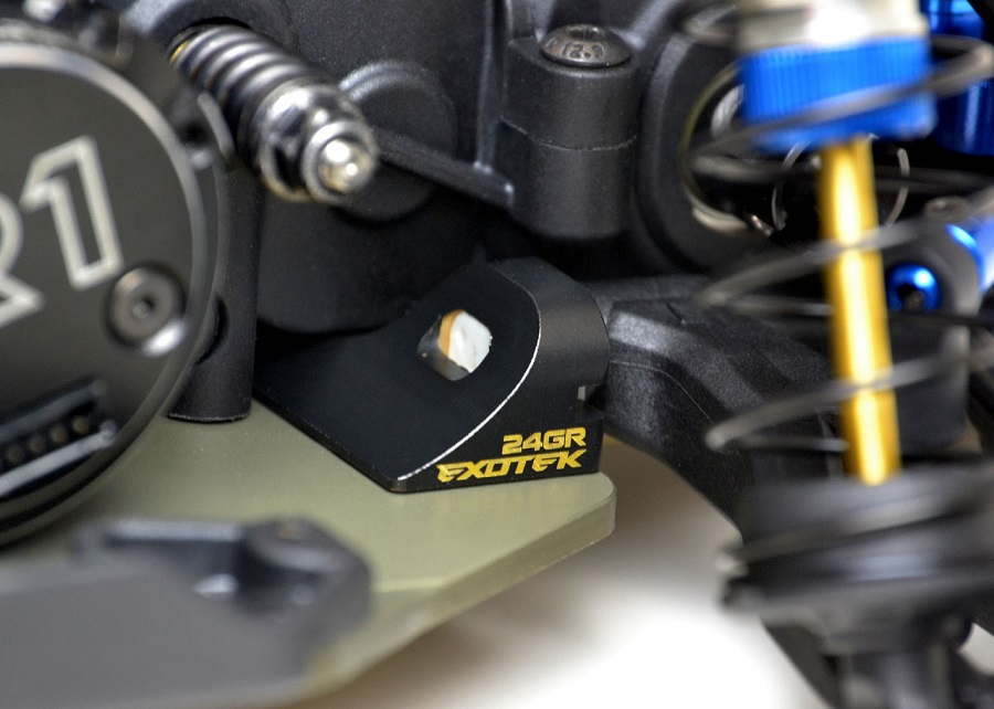 Exotek 25g C Block Brass Weight For The B6.1, T6.1 & SC6.1
