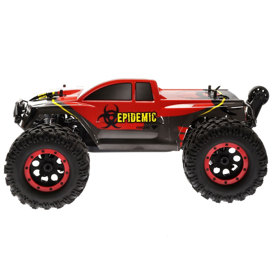 force rc epidemic rtr 1 8 brushless monster truck video. Black Bedroom Furniture Sets. Home Design Ideas