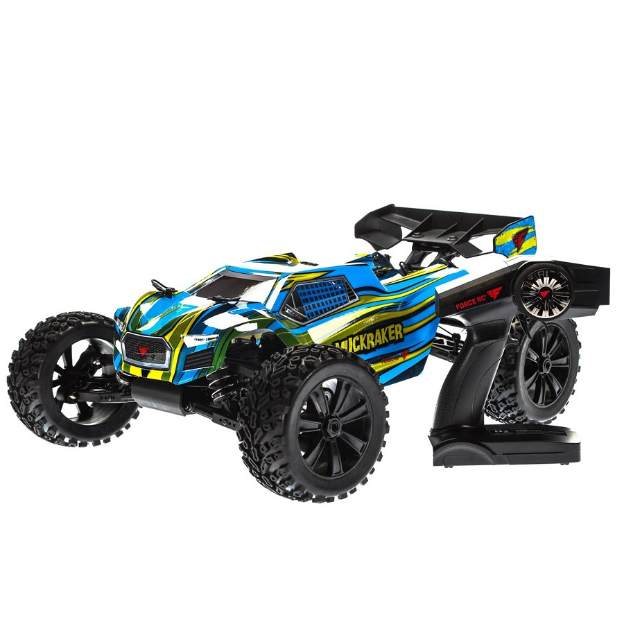 force rc muckraker rtr 1 8 4wd brushless truggy rc car. Black Bedroom Furniture Sets. Home Design Ideas