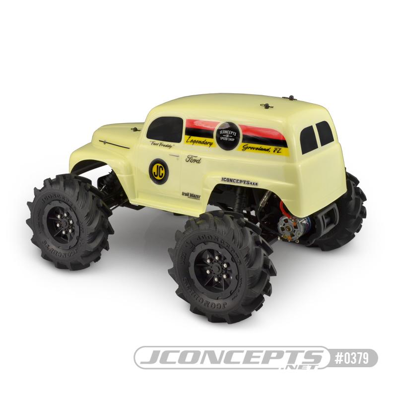 JConcepts 1951 Ford Panel Traxxas Stampede Clear Body