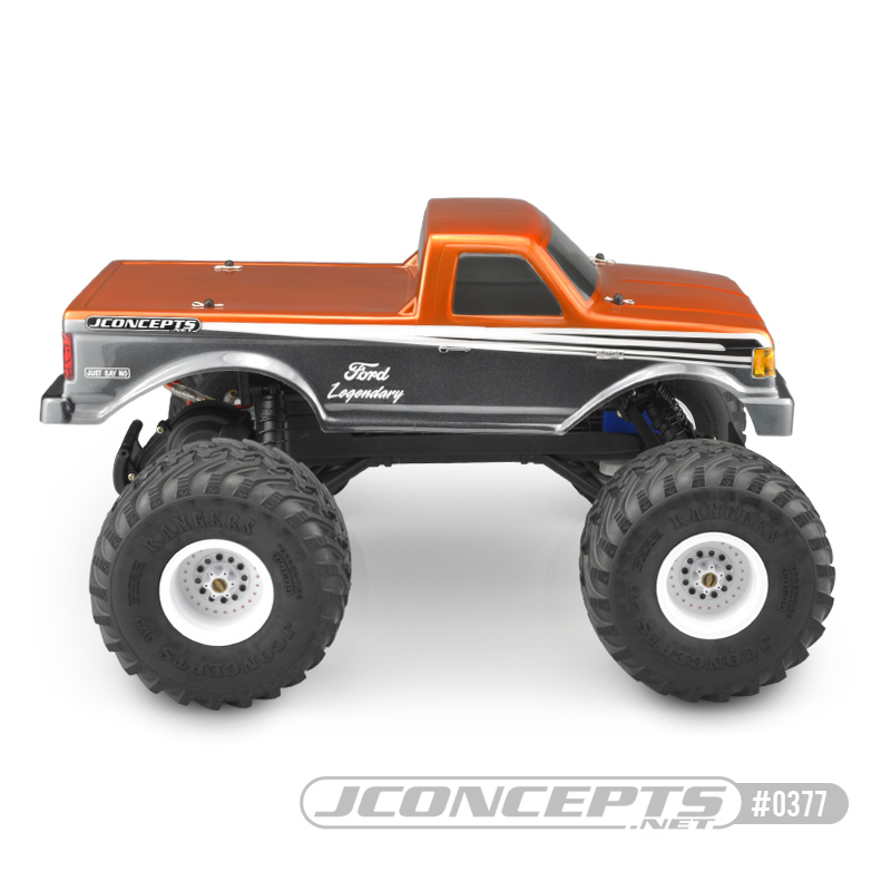 JConcepts 1989 Ford F-250 Traxxas Stampede Clear Body