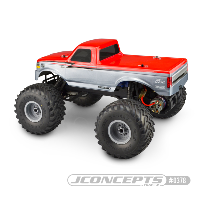 JConcepts 1993 Ford F-250 Traxxas Stampede Clear Body