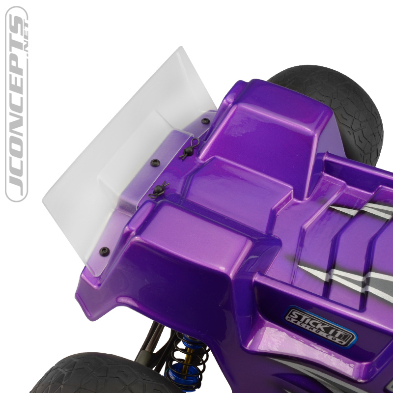 JConcepts F2 Clear Body For The T6.1