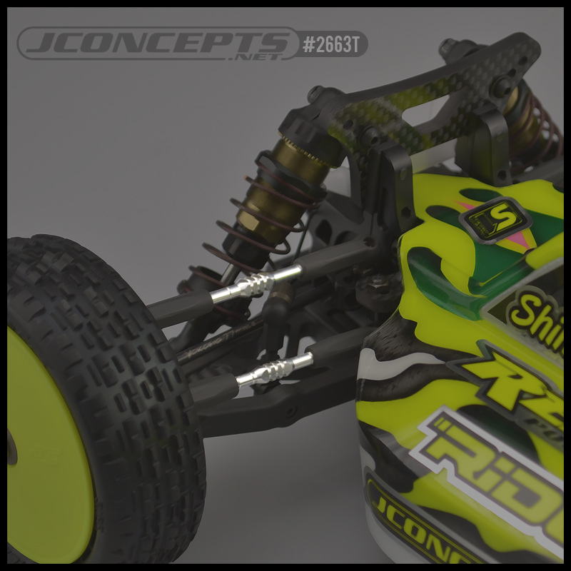 JConcepts Yokomo YZ4-SF Fin Titanium Turnbuckle Set