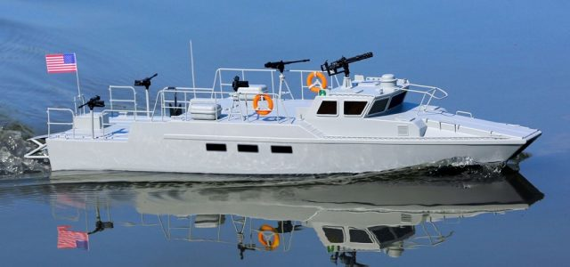 Pro Boat RTR 22″ Riverine Patrol Boat [VIDEO]