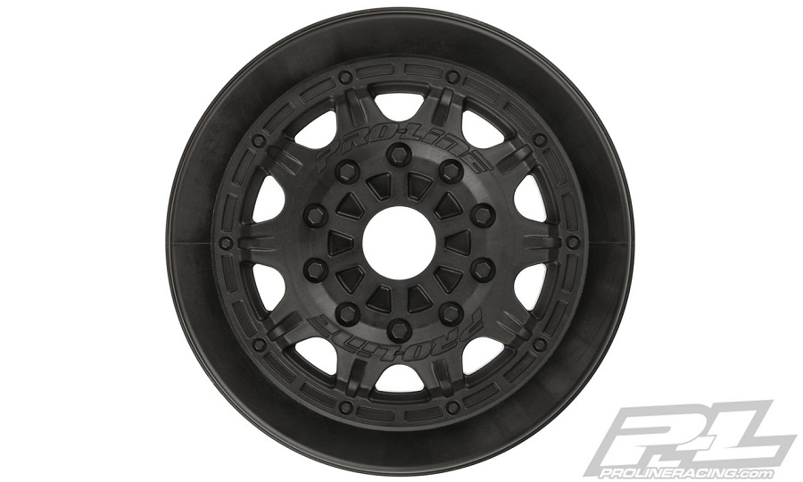 "Pro-Line 17mm Raid 2.2""/3.0"" Black Wheels"