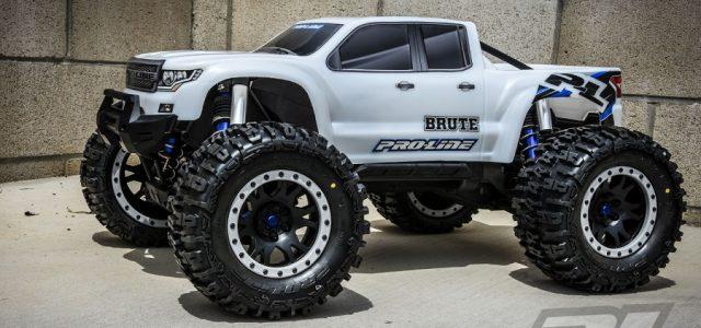 Pro Line Pre Cut Brute Bash Armor Body White For The Traxxas X Maxx Rc Car Action