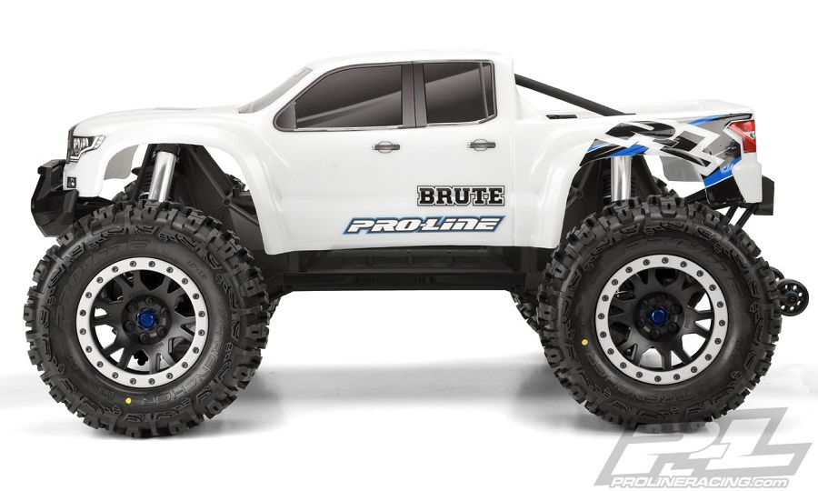 Pro-Line Pre-Cut Brute Bash Armor Body (White) For The