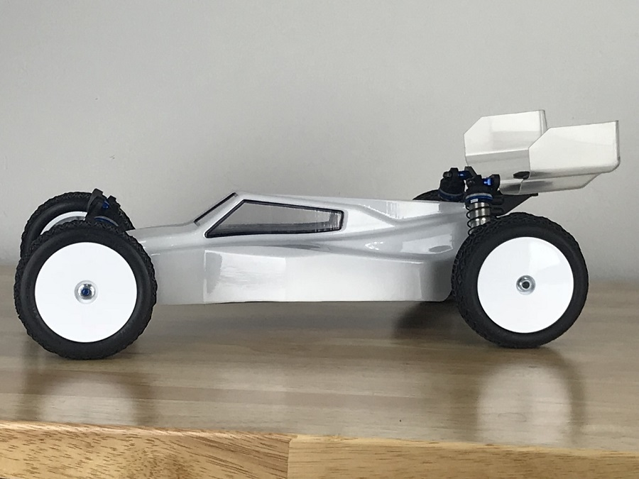 Raw Speed RS-1 Body For The B6.1