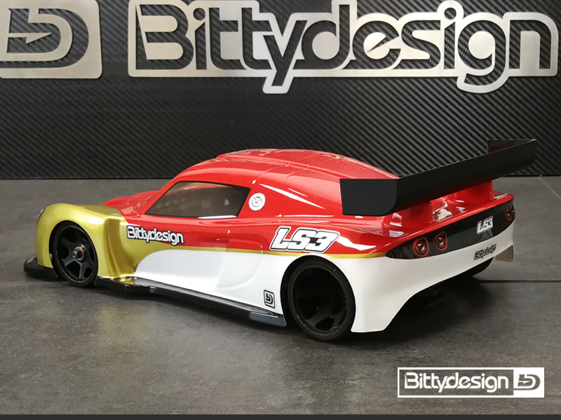 Bittydesign LS3 1/12 Clear Body