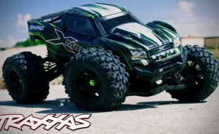 Crushing Concrete With The Traxxas X-Maxx [VIDEO]