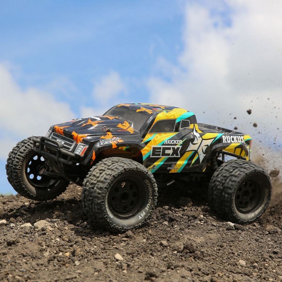 ECX Updates Ruckus Monster Truck With New Body & Electronics