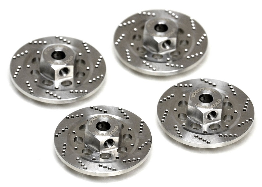 Exotek Stainless Steel Drilled Hex Brake Disk Set For The Losi Rock & Baja Rey