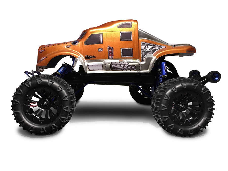 "Firebrand RC TERRAFIRE-MTX 2.9"" Pre-Glued 1/10 Mud Treads"