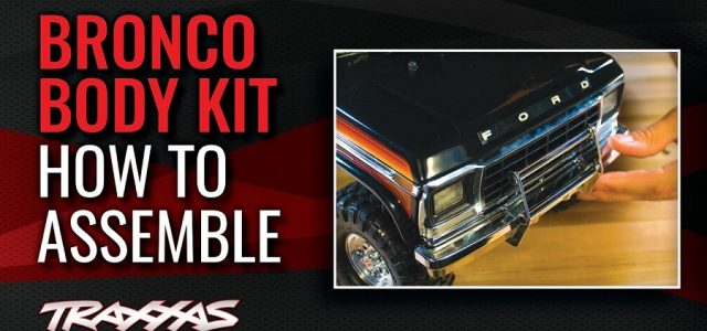 How To Assemble The Ford Bronco Body Kit [VIDEO]