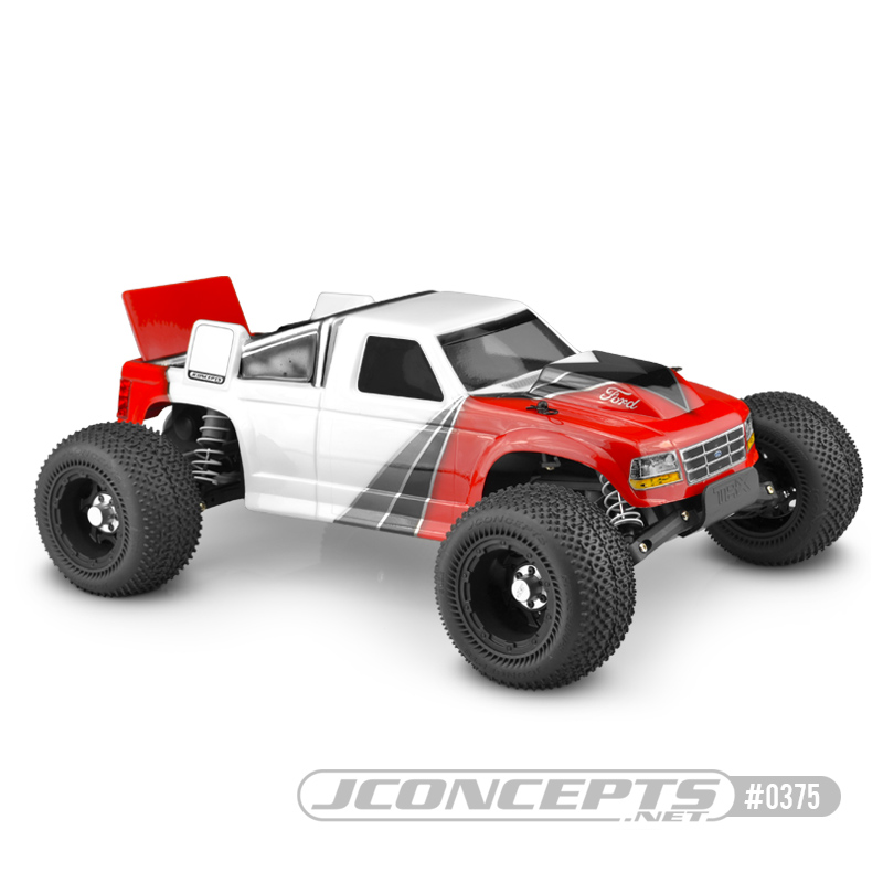 JConcepts 1993 Ford F-150 Rustler VXL Clear Body