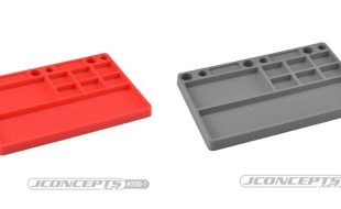 JConcepts Parts Tray Now Available In Red & Gray