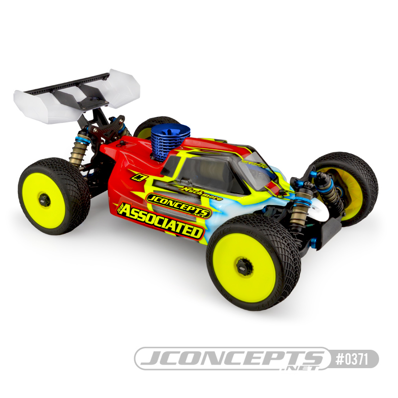 JConcepts Silencer RC8B3.1 Clear Body