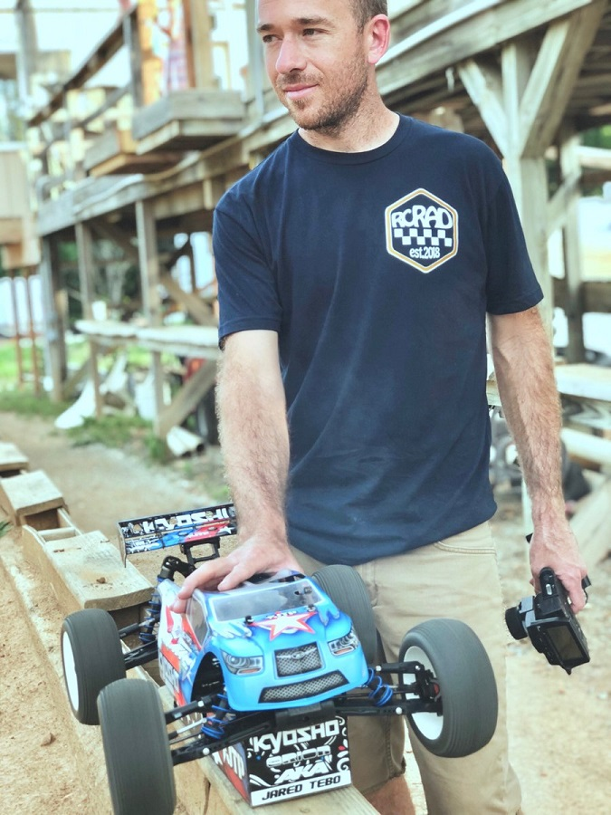 Jared Tebo Launches New RC Rad Clothing Line
